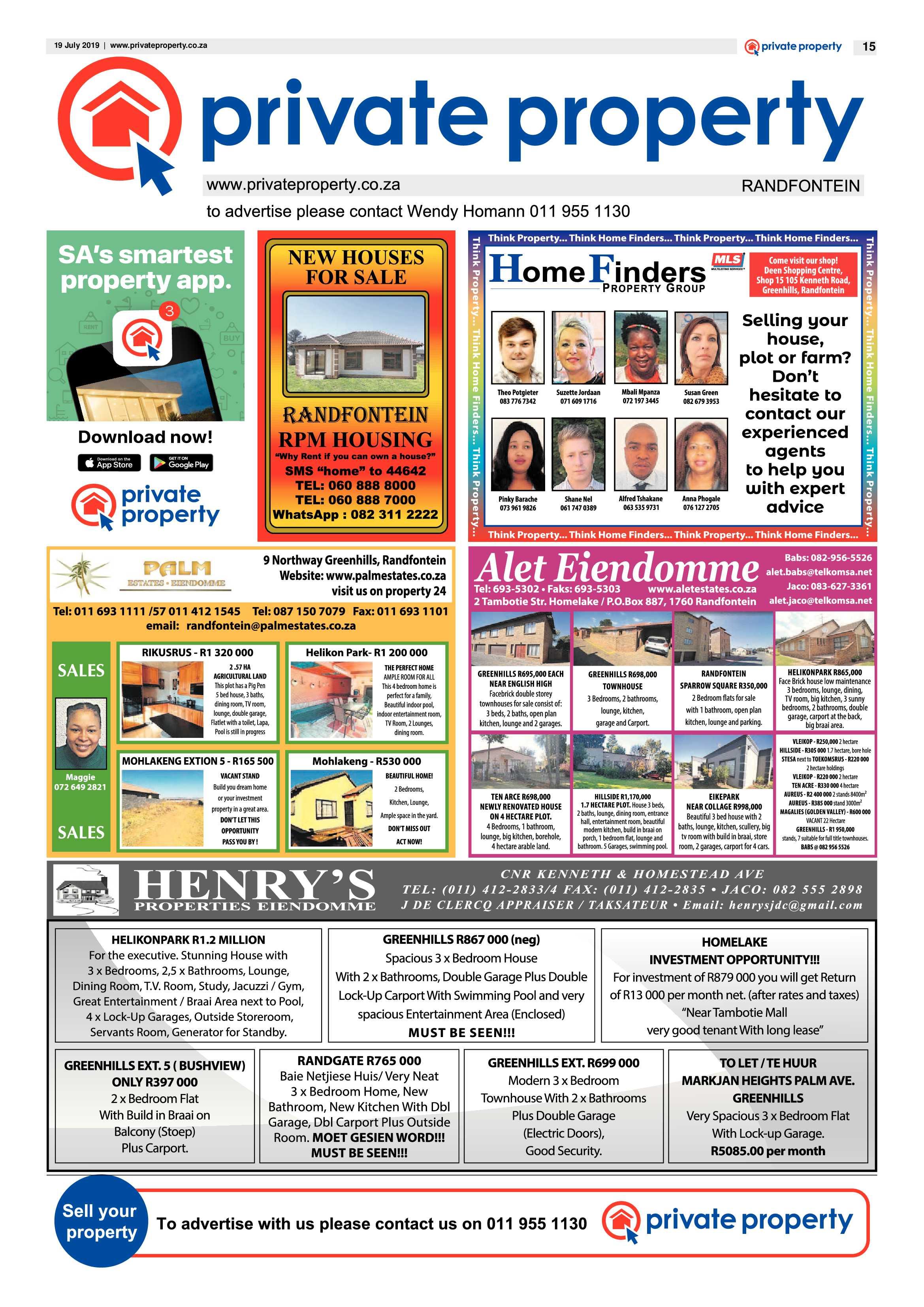 Randfontein Herald 19 July 2019 | Randfontein Herald