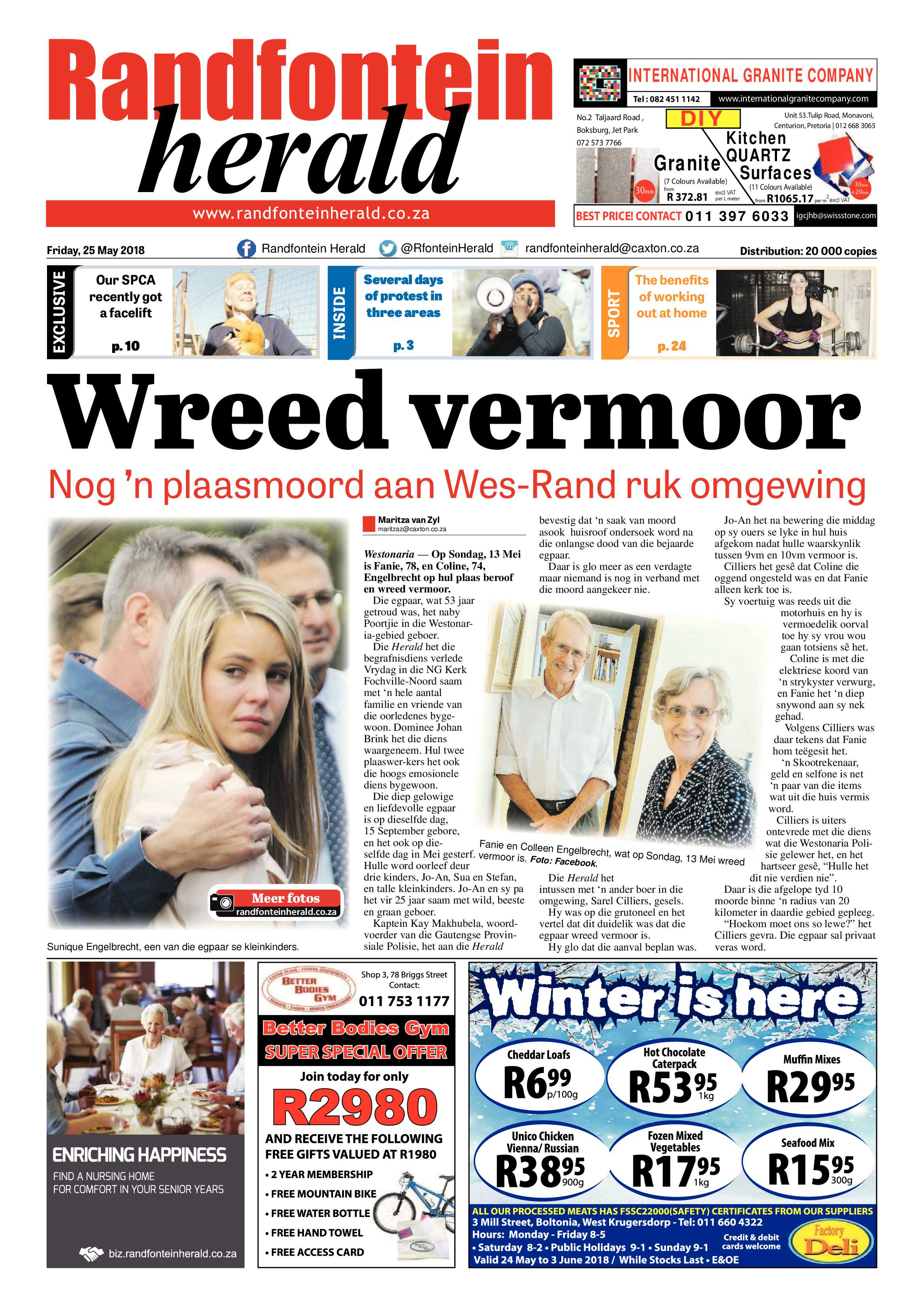 Local Breaking News Today | Randfontein Herald